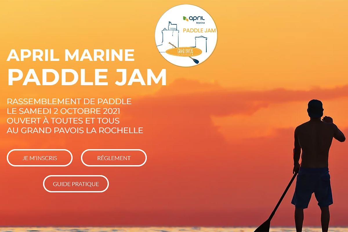 APRIL Marine Paddle Jam