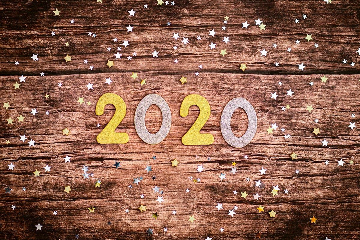 Meilleurs voeux et bonne année 2020 !