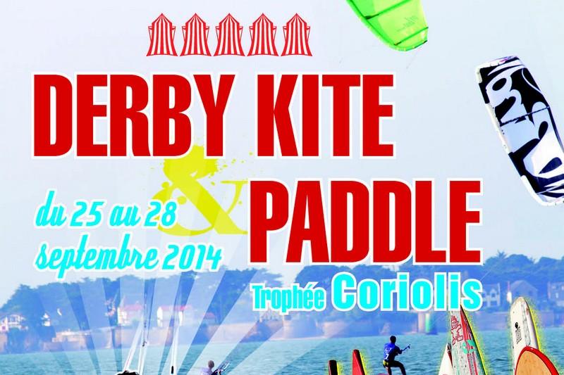 Derby Kite and Paddle - Trophée Coriolis