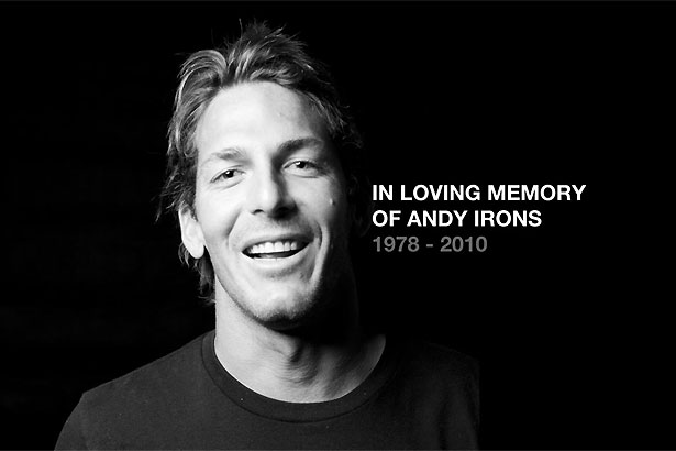 Disparition d'Andy Irons