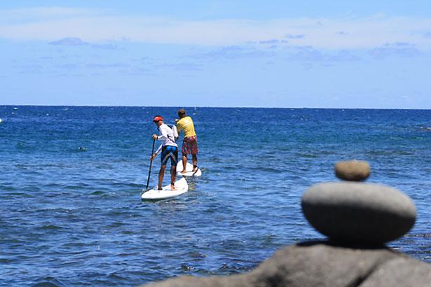 5 français à Hawaii