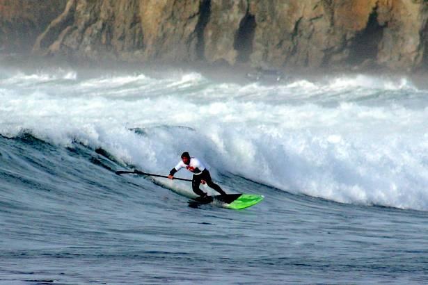 Vent et vagues à Crozon