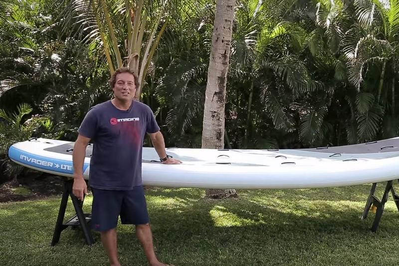 Matos : L'Invader d'Imagine Surf par Dave Kalama