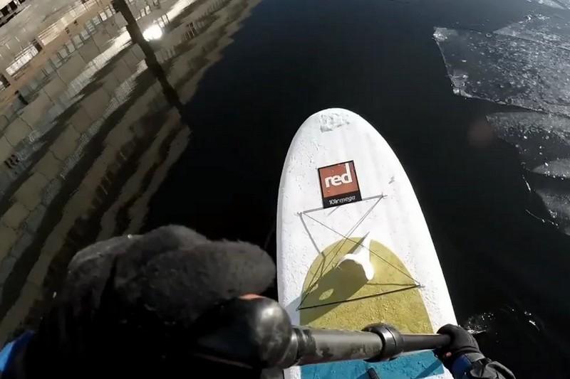 Vidéo : Une session avec glace !