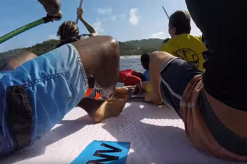 Vidéo : Du big SUP en Martinique