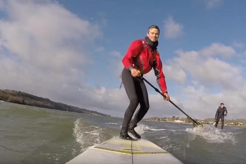 Vidéo : Un downwind en rade de Brest
