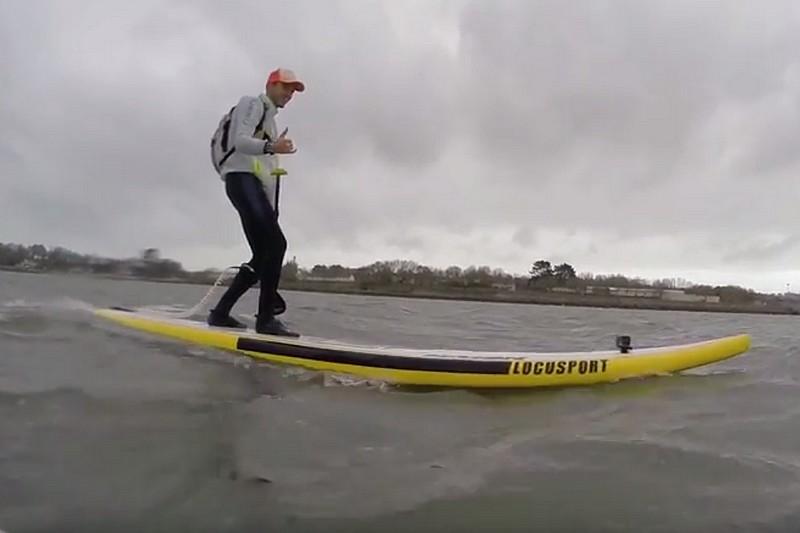 Vidéo : Un downwind à Brest