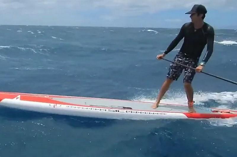 Vidéo : Un downwind avec Jeremy Riggs