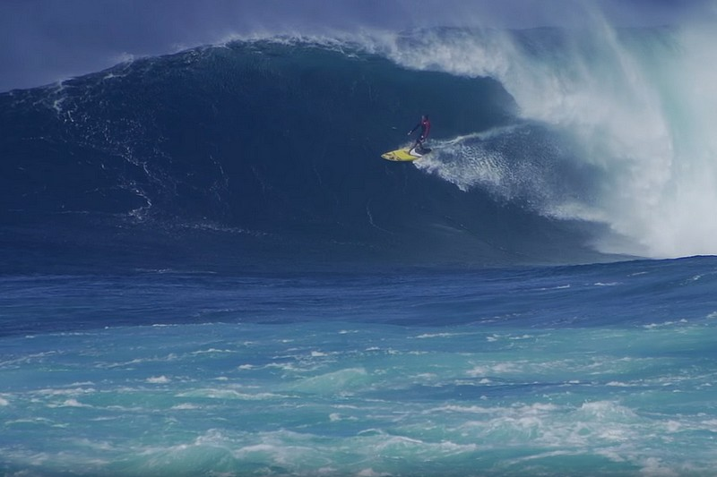 Vidéo : Kai Lenny à Jaws