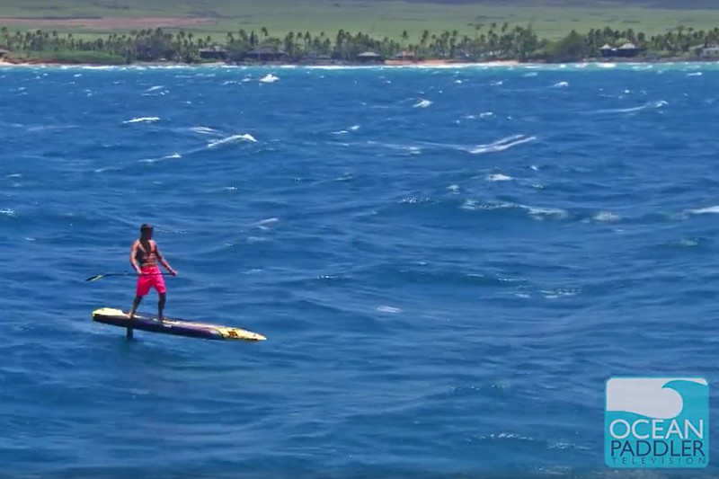 Vidéo : Kai Lenny et son foil vus du ciel