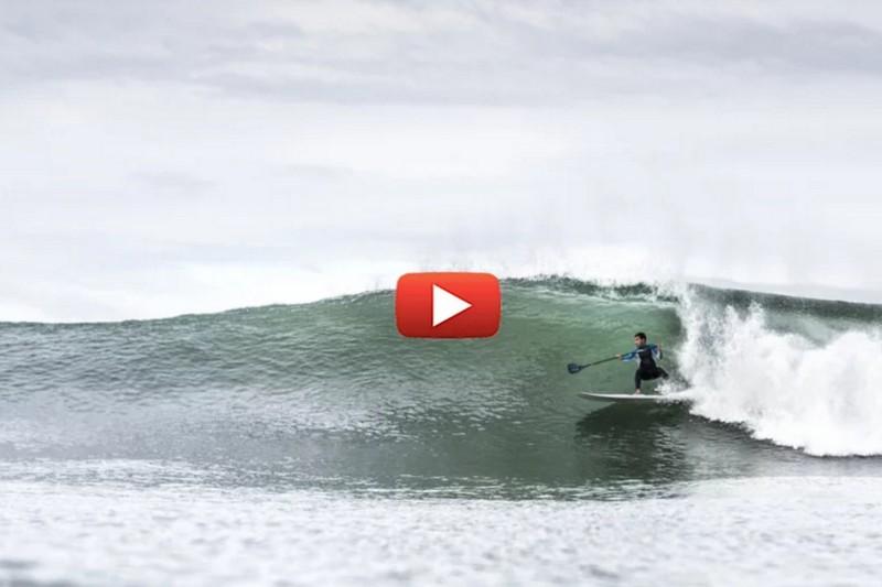 Vidéo : Du SUP surfing au Portugal