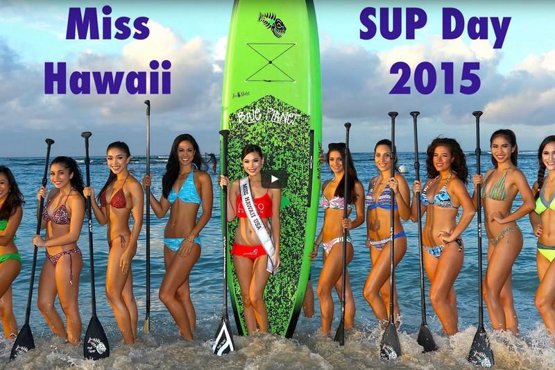 Vidéo : Une session avec les Miss Hawaii 2015