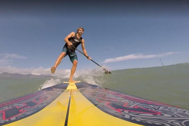Vidéo : One foot SUP Challenge