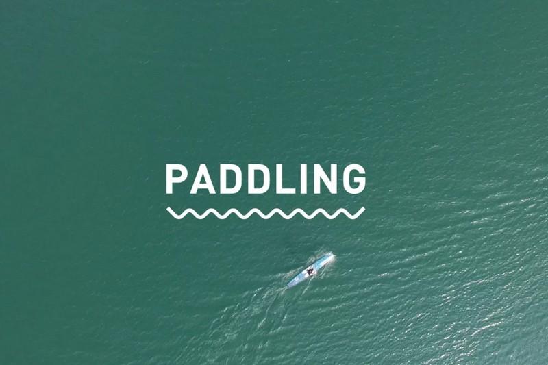 Vidéo : Paddling