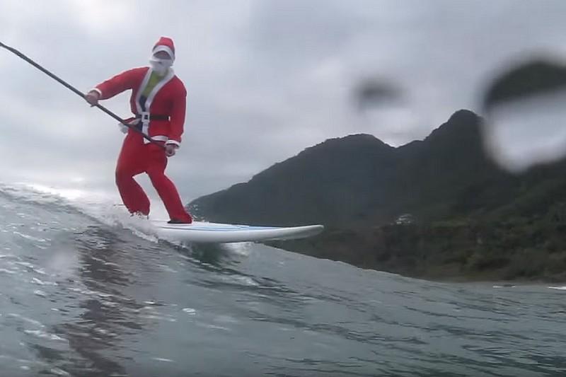 Vidéo : Le Père Noël à Taïwan
