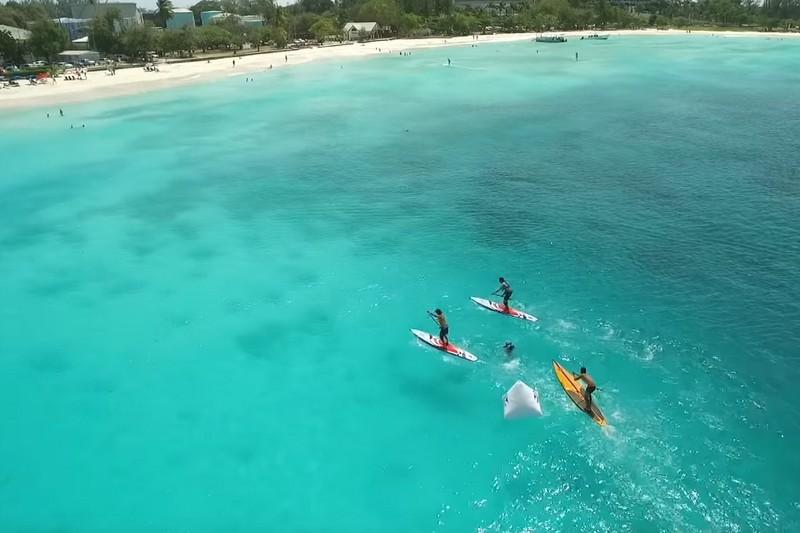 Vidéo : De la chaleur à la Barbade