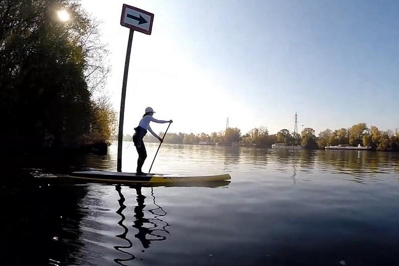 Vidéo : Du SUP sur la Seine