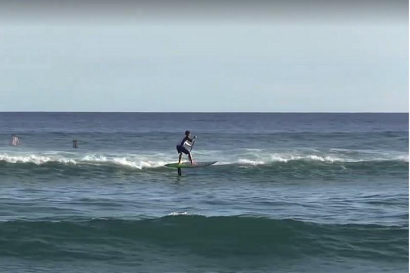 Vidéo : Zane Schweitzer en SUP foil surfing