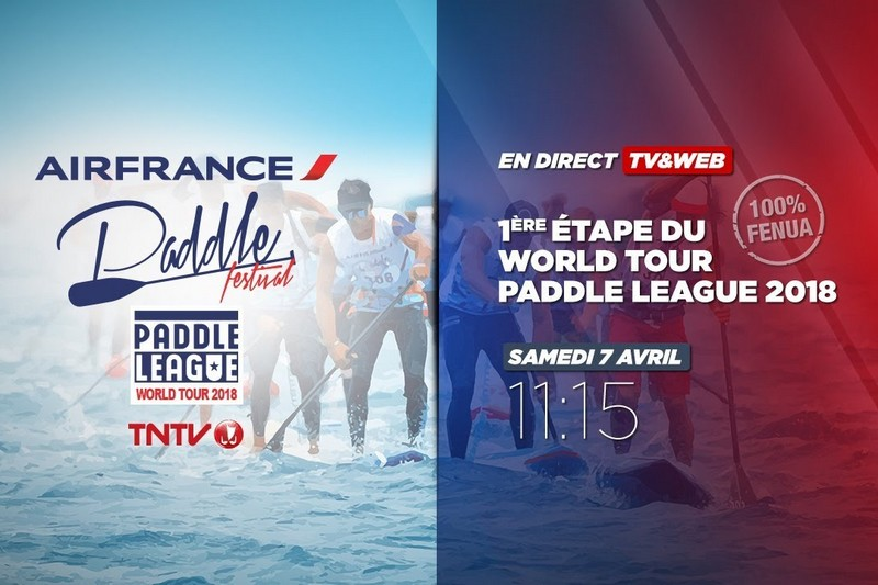 Live streaming Air France Paddle Festival