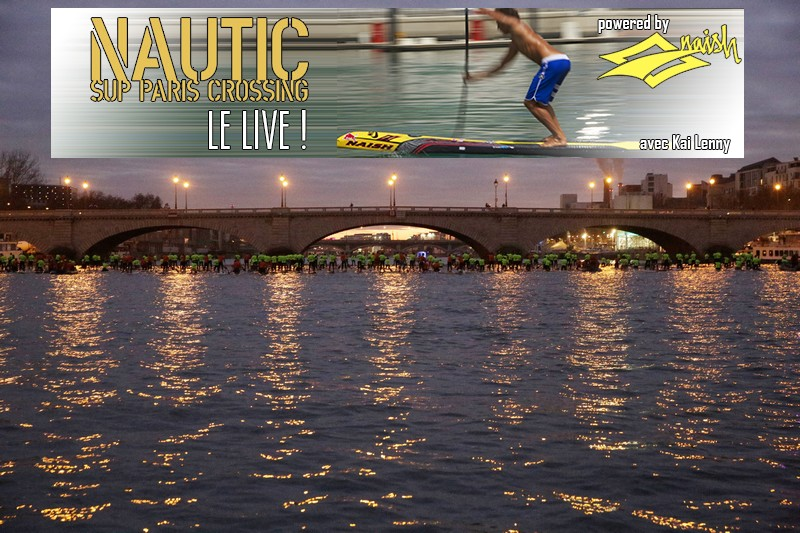 Live Nautic SUP Paris Crossing