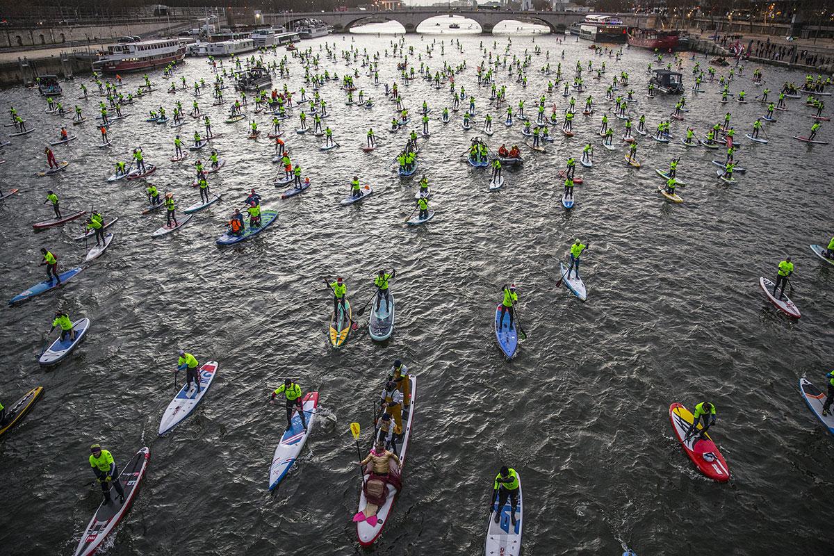 1000 concurrents sur la Seine en décembre !