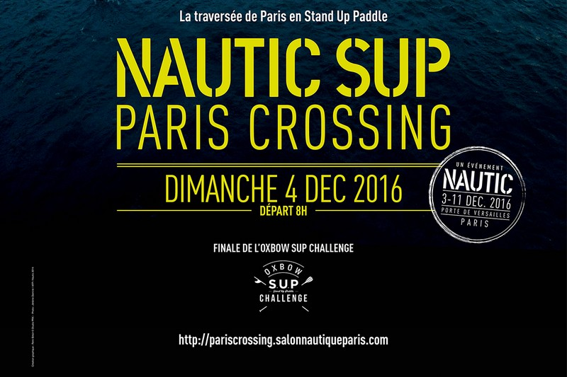 Du nouveau sur le Nautic SUP Paris Crossing !