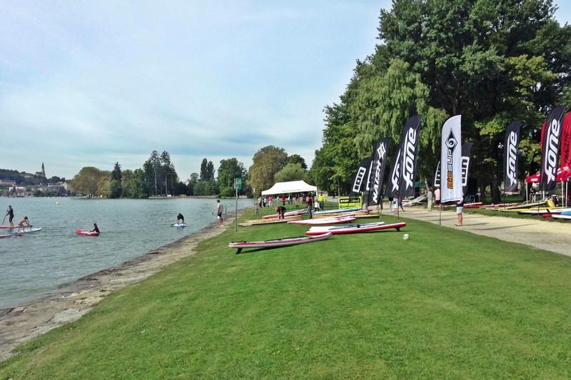 Open Race Lac d'Annecy - Jour 1