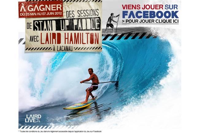 Laird Hamilton en France !