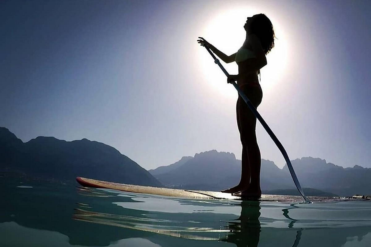 Photo du jour - Canicule sur le lac d'Annecy