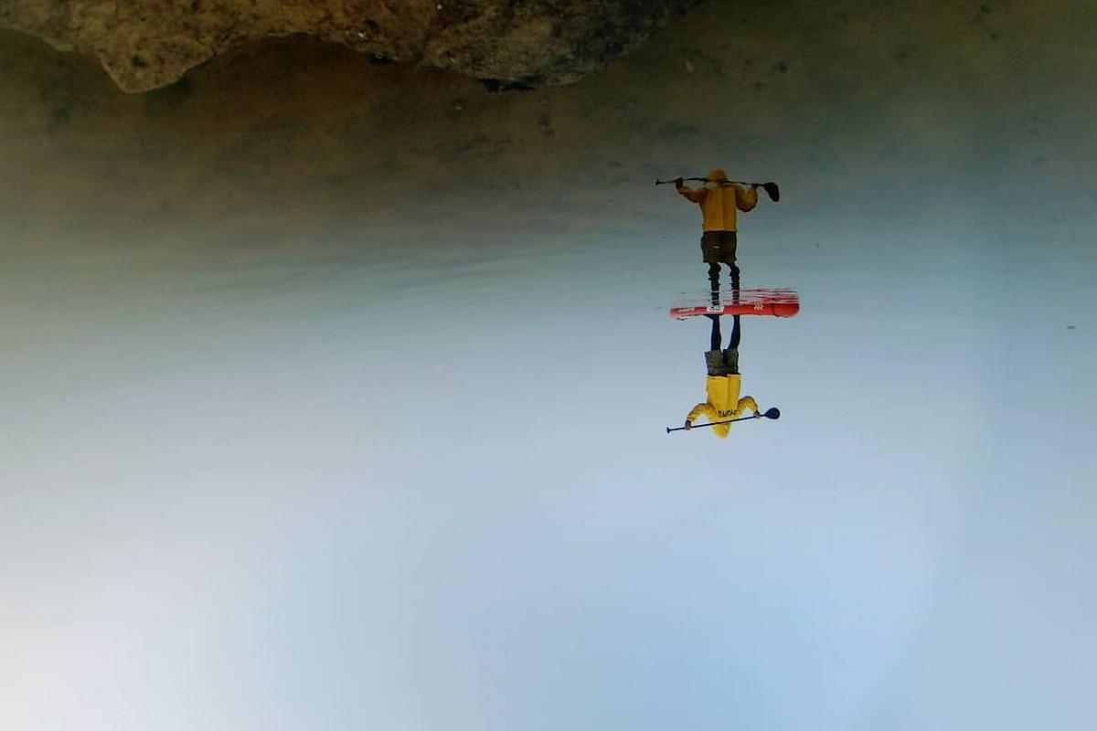 Photo du jour : Entre ciel et eau