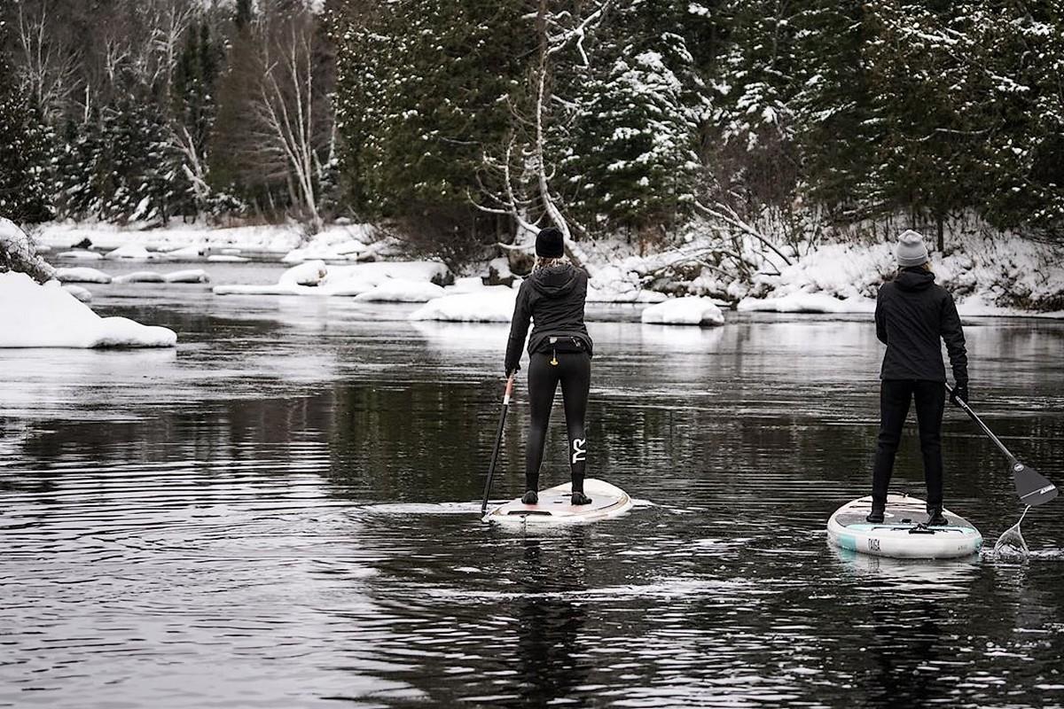 Photo du jour : Premières sessions d'hiver