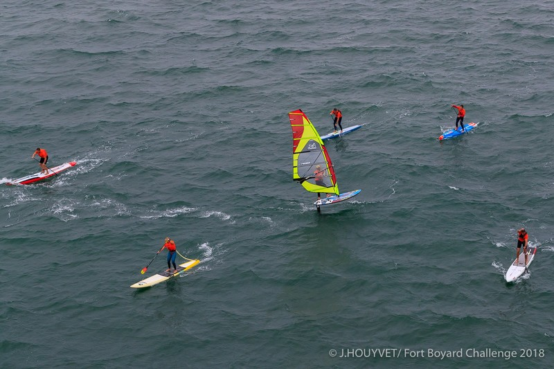 Un vrai downwind en bouquet final