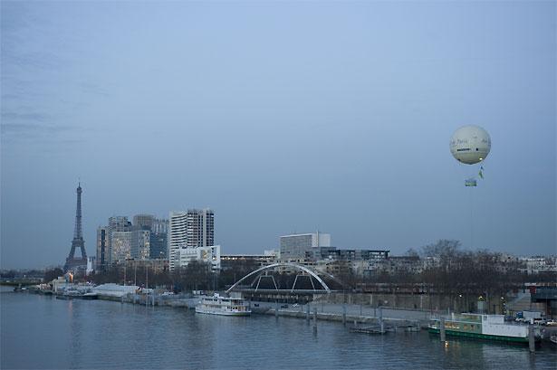 Une épreuve sur la Seine !