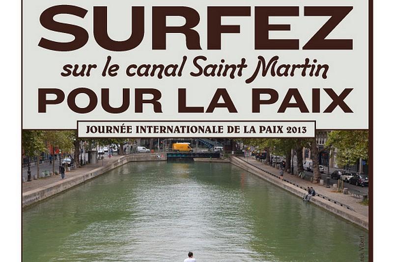 Surfez pour la paix