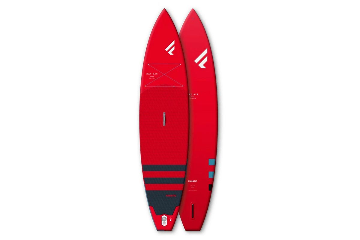 Test SUP gonflable Fanatic Ray Air Pure 11.6 2021