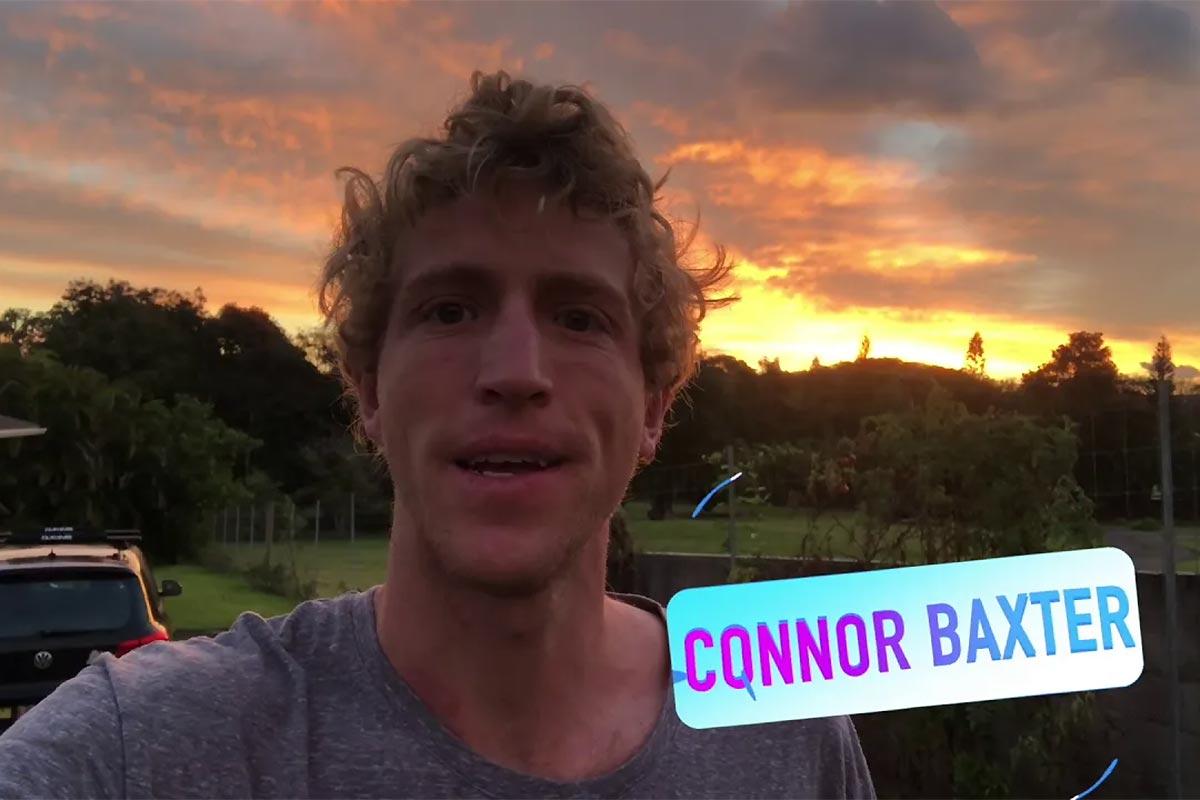 Une journée avec Connor Baxter