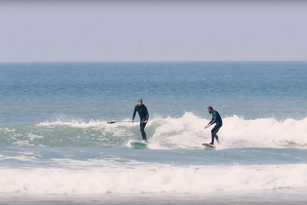 Du SUP surfing à 2 pas du bureau !