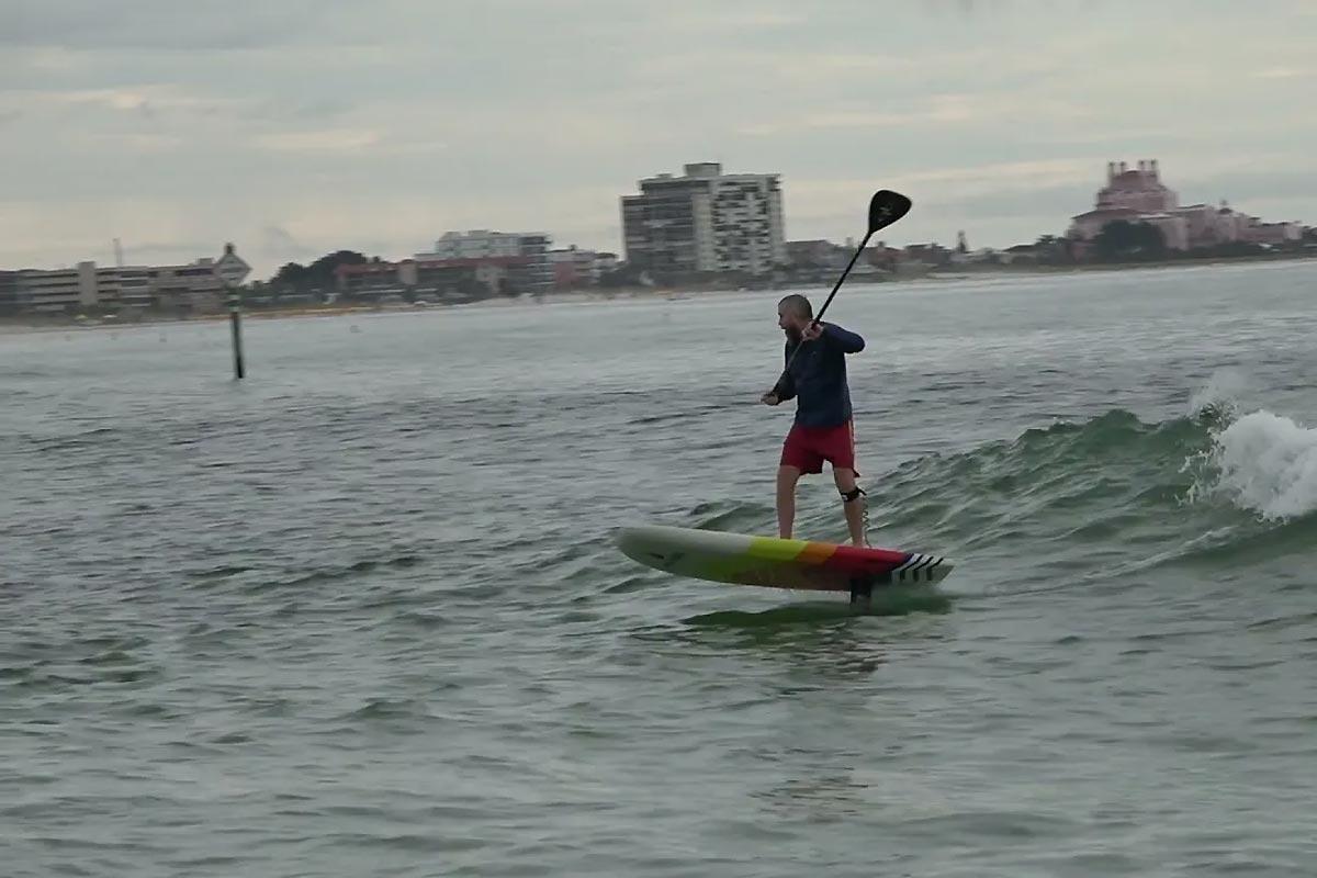 Du SUP foil en Floride avec Alex Aguera et Brent Duty