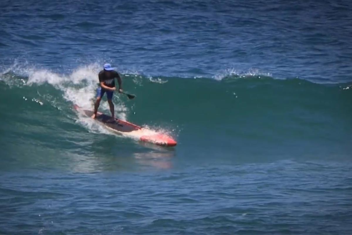 Du surf en SUP race avec Andrew Cassidy