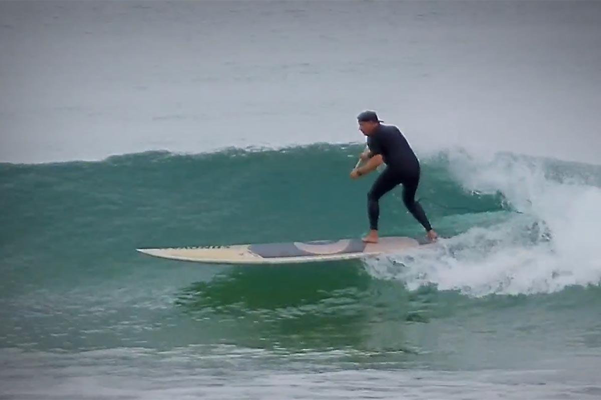 Du SUP surfing en 12.0 avec Andrew Cassidy
