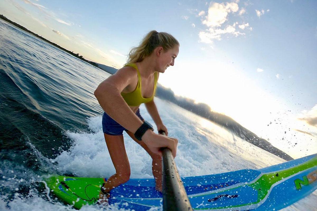 Annie Reickert, une vraie waterwoman
