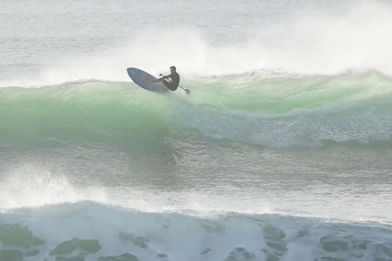 SUP Surfing - Brittany - Hossegor