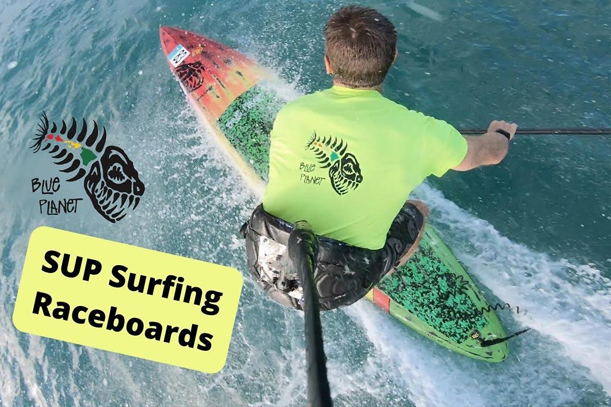 Du SUP surfing en planche de race