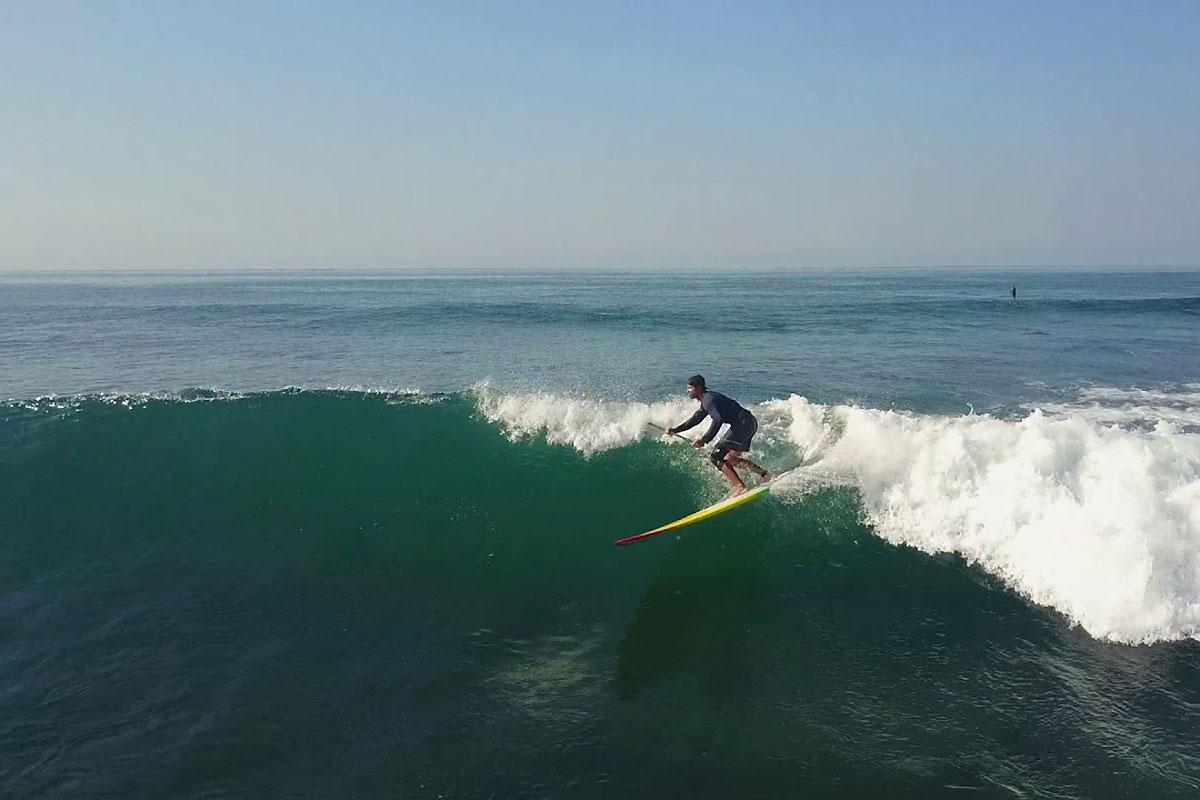 Du SUP longboard au Costa Rica