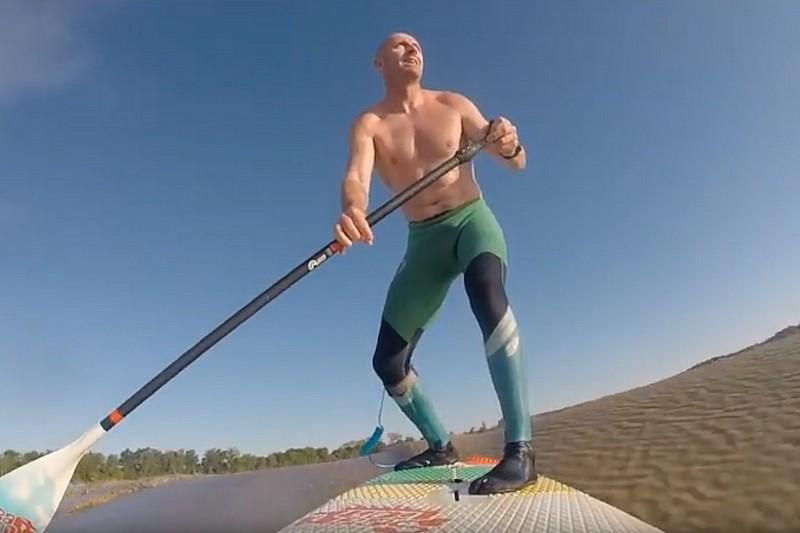 Un surf de 13 minutes avec Bruno André !