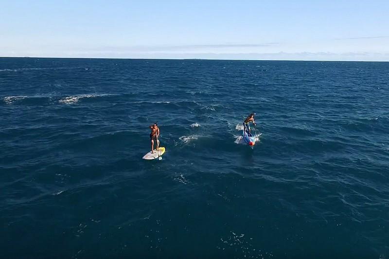 Un downwind en Nouvelle-Calédonie