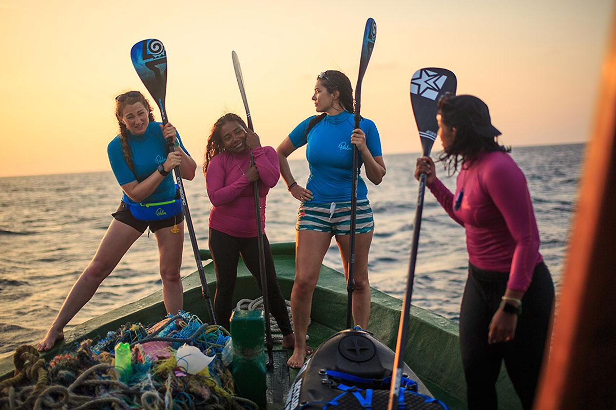 4 femmes pour une bonne cause aux Maldives
