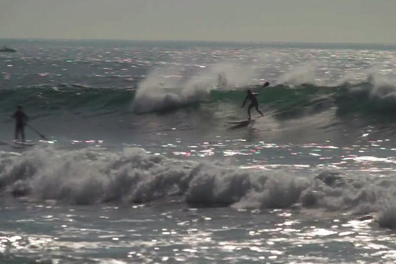 Du SUP surfing à Parede