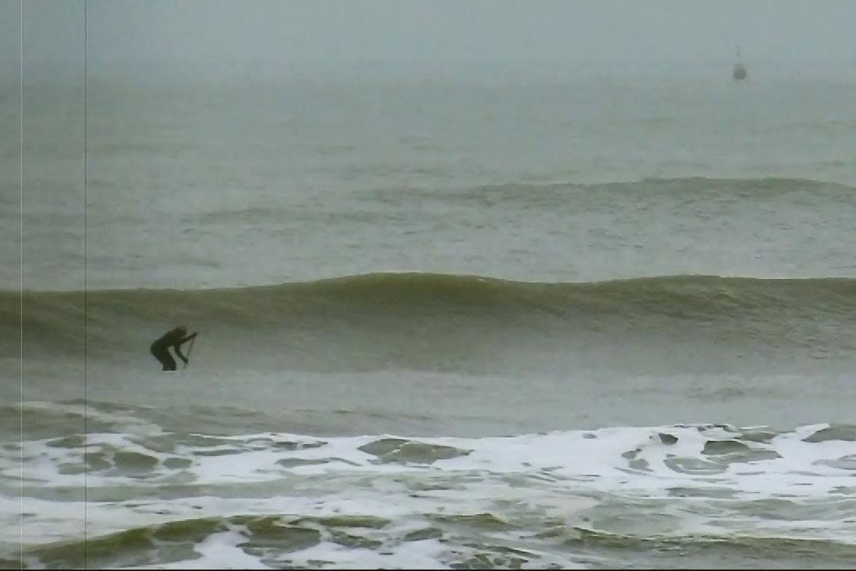 Une journée de SUP surfing à Wijk ann Zee