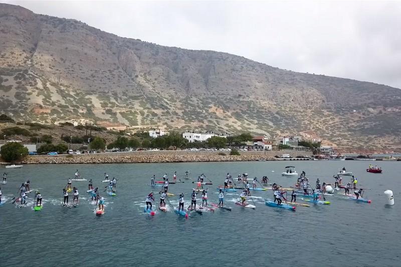 Agios Nikolaos On SUP 2018
